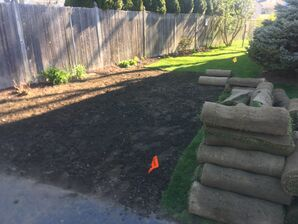 Before and After Lawn Installation in Winchester, MA (3)