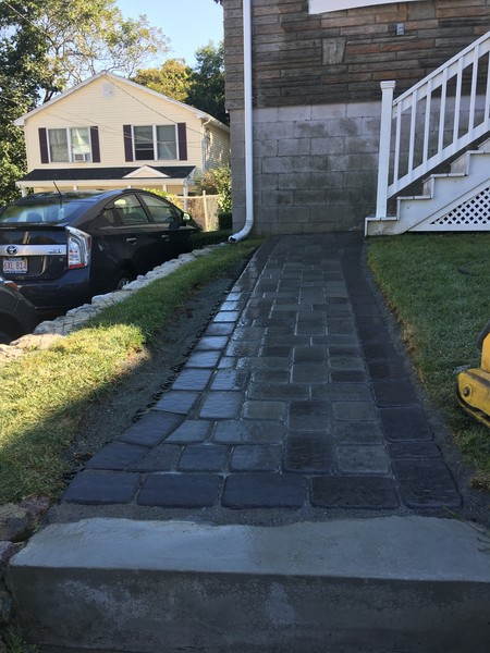 Before & After Walkway in Malden, MA (3)