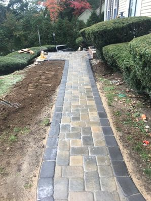 Before & After Walkway in North Andover, MA (2)